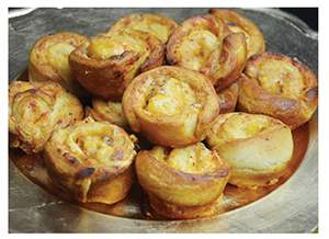 Coastal Flavors Palmetto Cheese Pinwheels