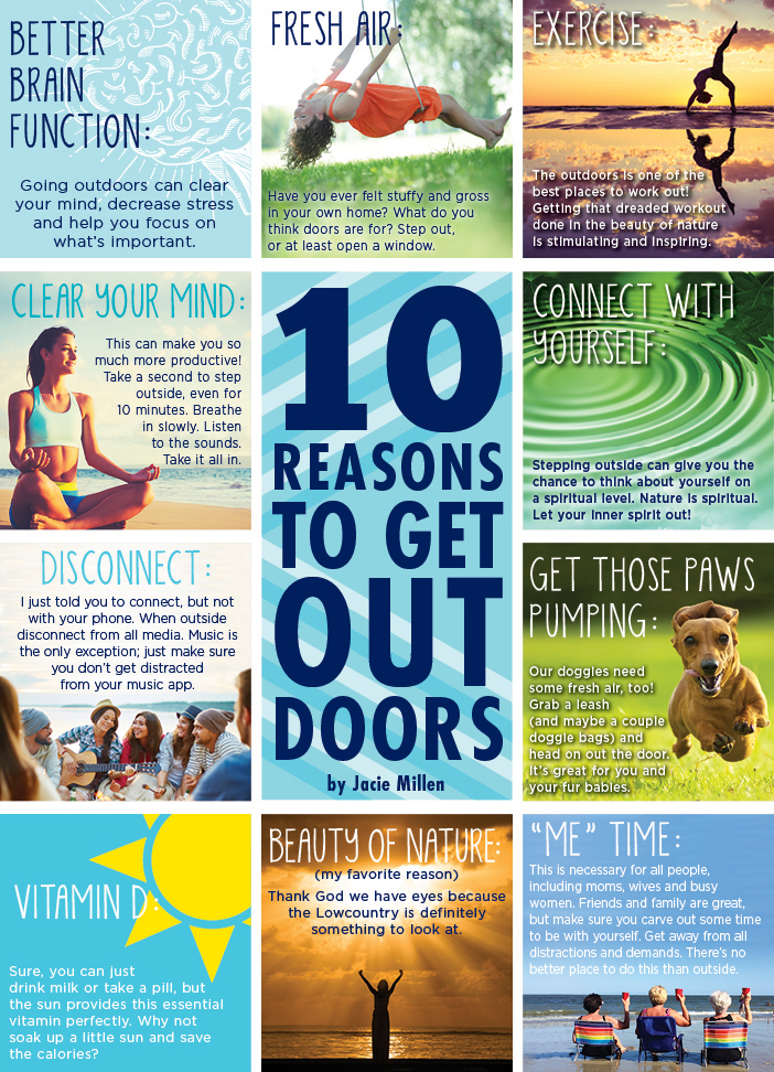 10 reasons to get outside 0617