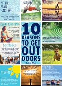 10 Reasons to Get Outside