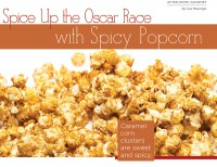 Spice Up the Oscar Race with Spicy Popcorn
