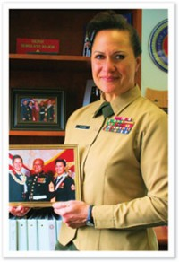 Sergeant Major Angela M. Maness
