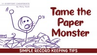 Tame the Paper Monster