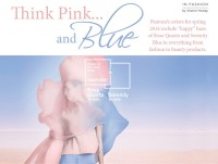 Think Pink... and Blue