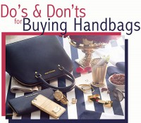 Do's & Don'ts for Buying Handbags