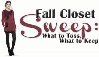 Fall Closet Sweep: