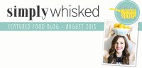 Featured Food Blog - August 2015