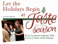 Let the Holidays Begin at Taste of the Season