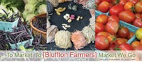 To Market, To [Bluffton Farmers] Market We Go