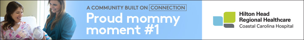 NEW AD 0619 Proud mommy moment Web Banner Coastal Carolina Hospital 1000x132