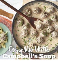 Cozy Up With Campbell's Soup