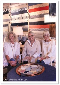 Andrea Sonfield, Jan Rose & Martha Ladermann